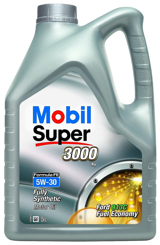 Comma 151177 Mobil Super 3000 - Aceite sintético de motores de vehículos (5W-30, 1 l): Amazon.es: Coche y moto