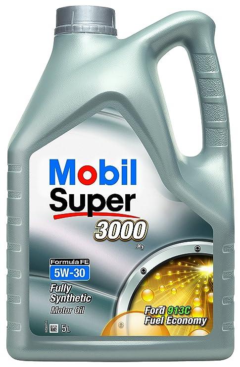 Comma 151176 5L Mobil Super 3000 - Aceite sintético de motores diésel y gasolina de turismos