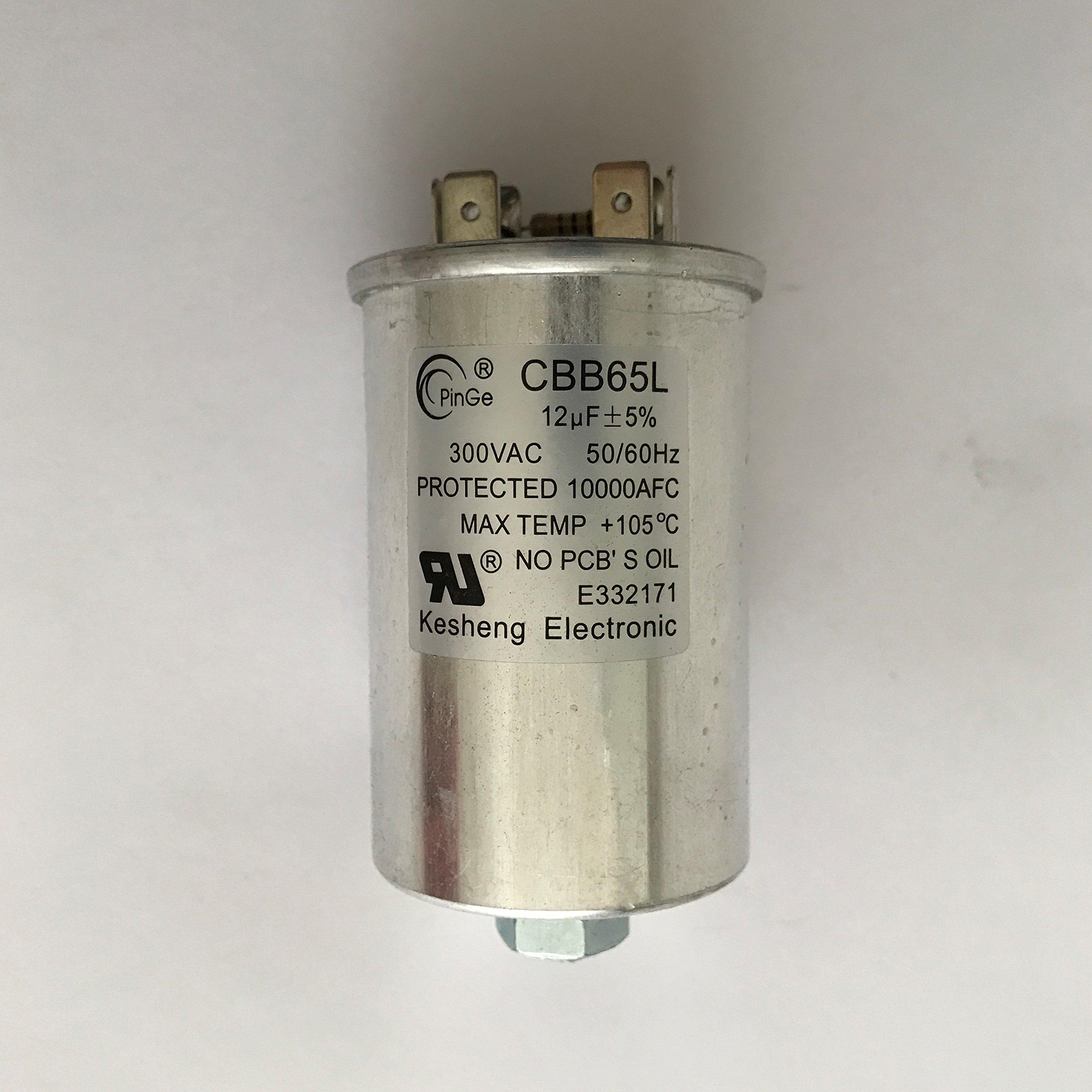 Capacitor 12uF/300VAC 120-480 Volt for Metal Halide 100 Watt-HX (1 Piece)