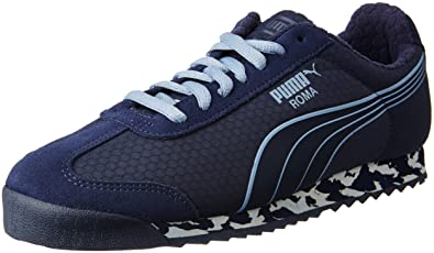 low cost sale cheap price Puma Roma Ms Print Navy Blue Sneakers cheap top quality CFWk0cWEF