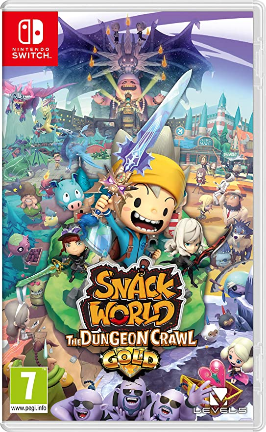 Snack World: The Dungeon Crawl - Gold - Nintendo Switch [Importación inglesa]: Amazon.es: Videojuegos