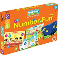 PodSquad Activity Boards to Learn About Numbers. Ages 2-4 Years