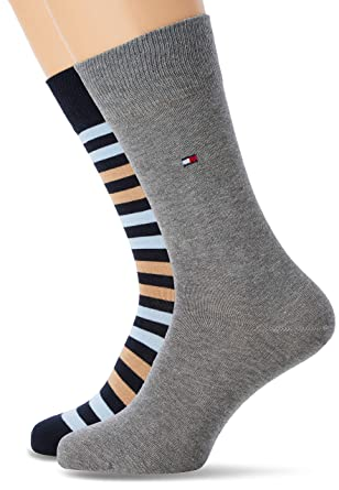 d8aa769daec Tommy Hilfiger TH MEN DUO STRIPE SOCK 2P Chaussettes Homme