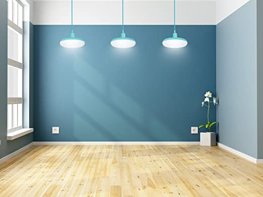 Garza Lighting - Lámpara Pendant LED Light, potencia 12 W, luz natural 4000K, color Turquesa: Amazon.es: Iluminación