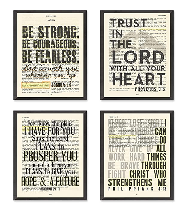 Top 9 Bible Scripture Wall Decor