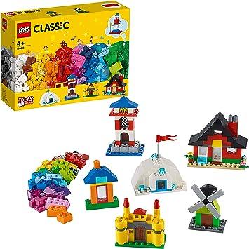 LEGO Classic - Ladrillos y Casas, manualidades niños y niñas a ...