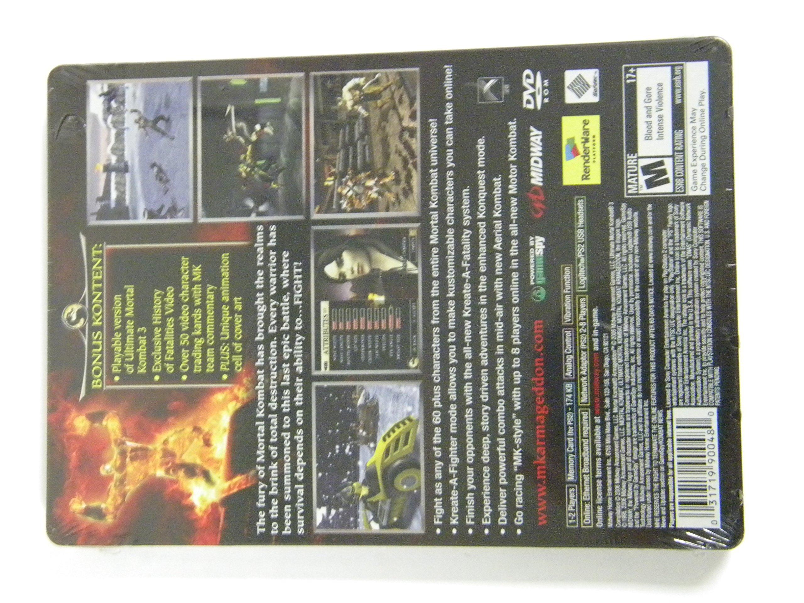 Amazon com: Mortal Kombat Deception Kollectors Edition