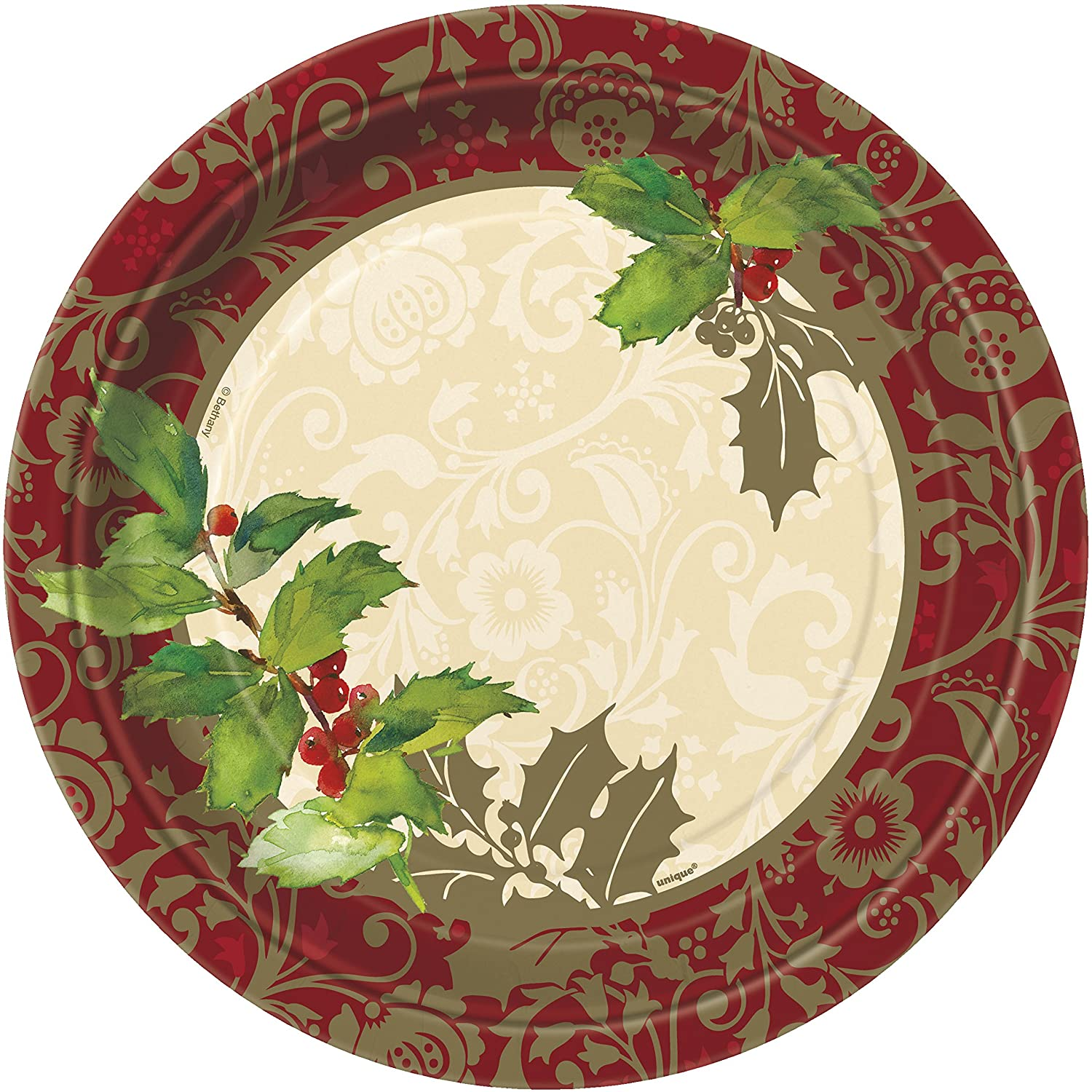 holiday paper plates The one-stop shop for christmas cards, gifts & decoarations.