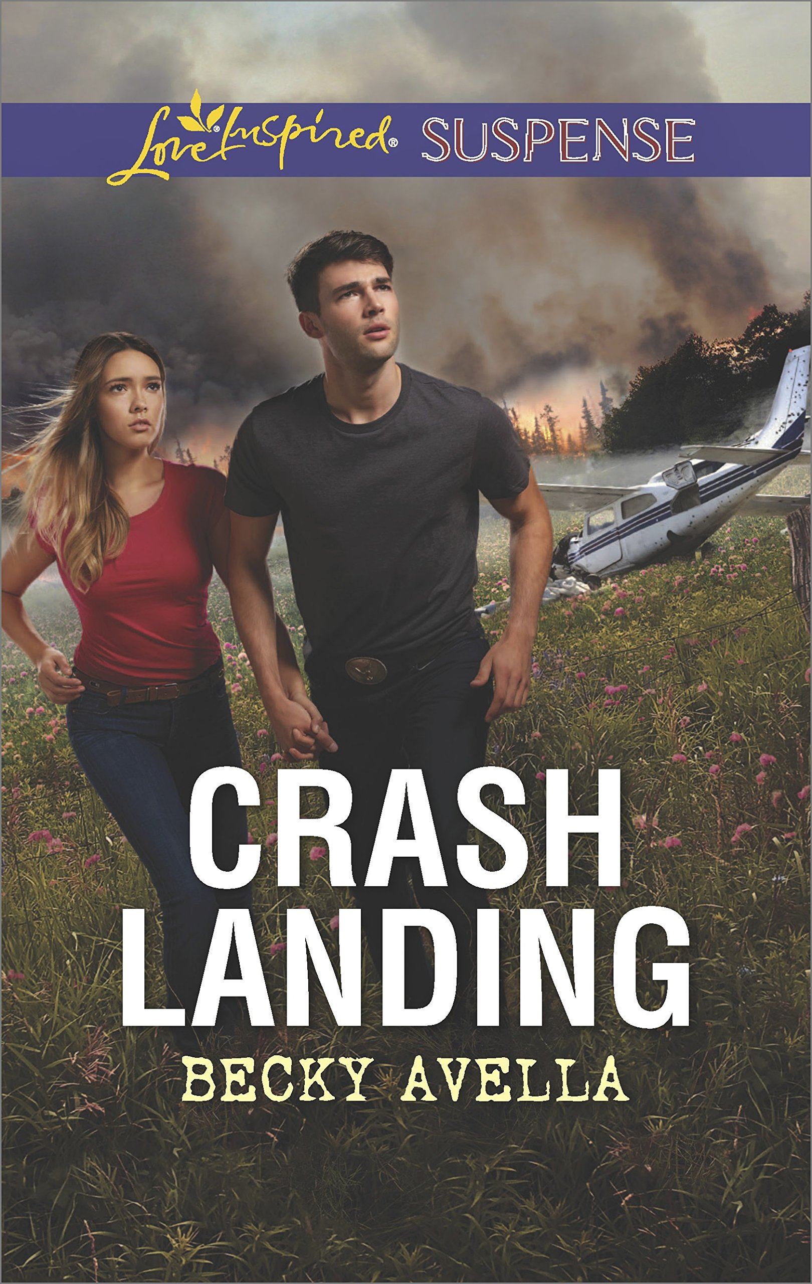 Crash Landing Love Inspired Suspense product image