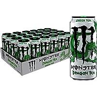 Monster Energy Dragon Tea, Green Tea, 15.5 oz (Pack of 24)