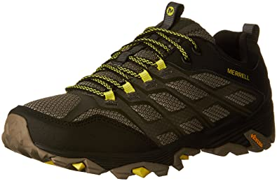 Merrell Mens Moab Fst Hiking Shoe, Olive Black, ...
