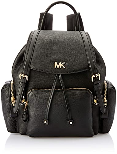 1cbad69776b4 Women's Accessories Michael Kors Beacon Black Leather Backpack Spring  Summer 2018