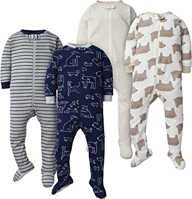 Universe 3 Months Gerber Baby Boys 2-Pack Footed Unionsuit