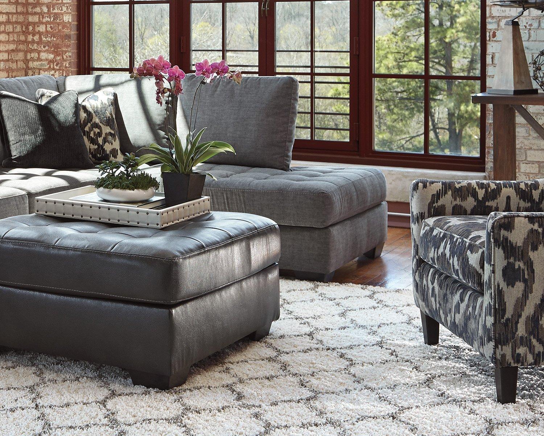 Amazon.com: Ashley Furniture Signature Design   Gate 5u0027 X 7u0027 Medium Rug    Gate Design In Cream/Gray: Kitchen U0026 Dining