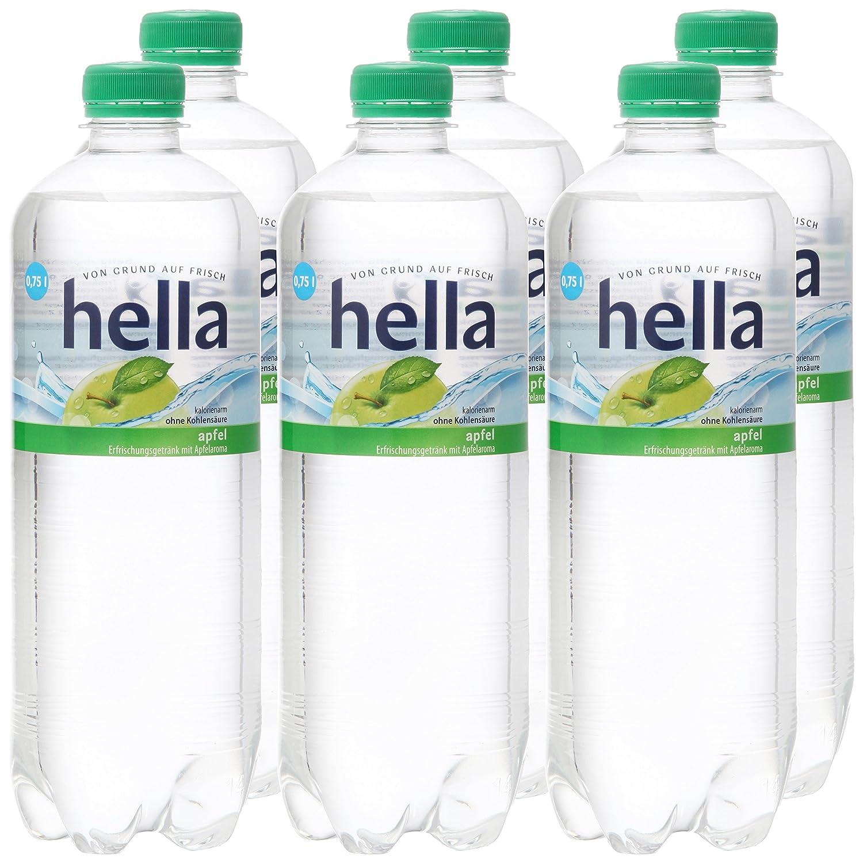 hella near water Apfel, 6er Pack (6 x 750 ml): Amazon.de ...