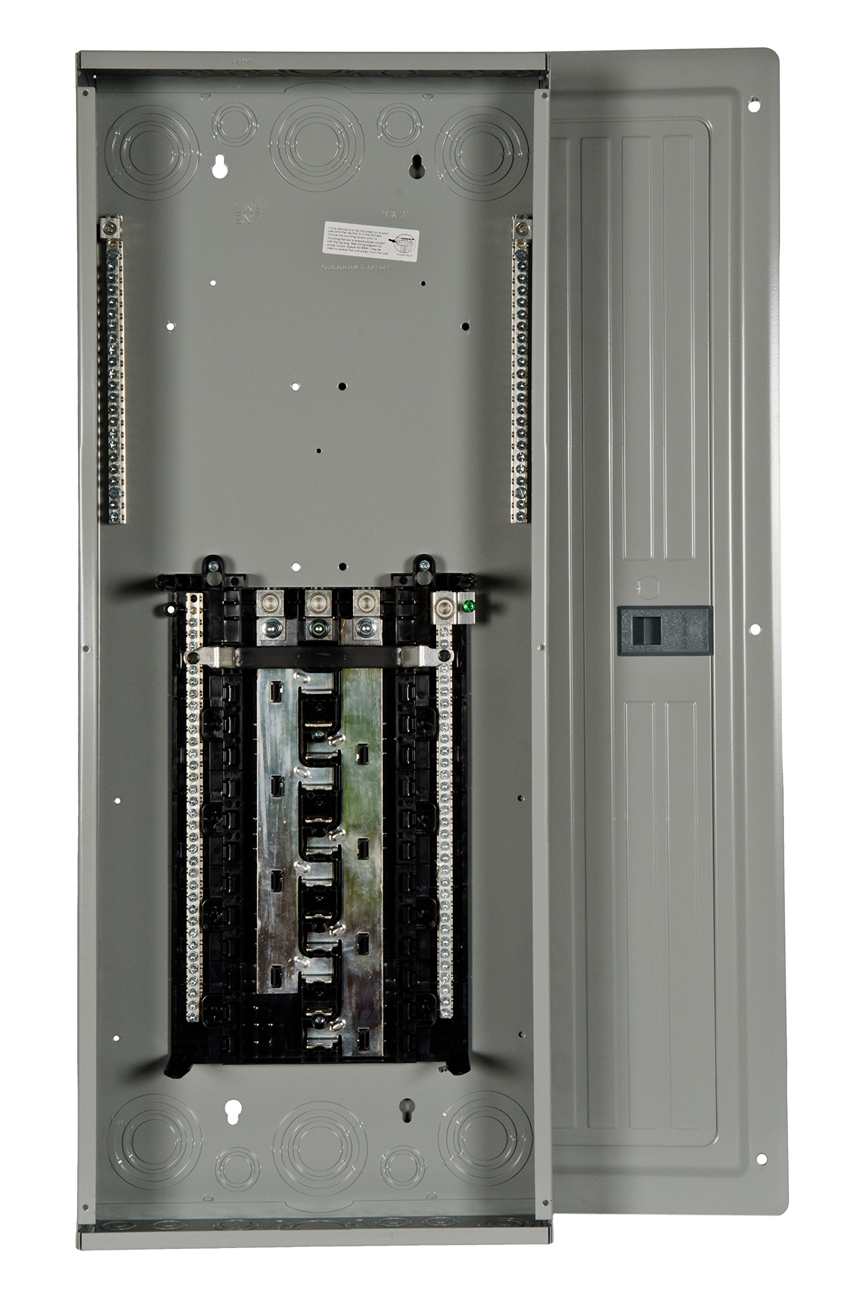 P2442L3200CU 200-Amp 24-Space 42-Circuit 3-Phase Main Lug Load Center