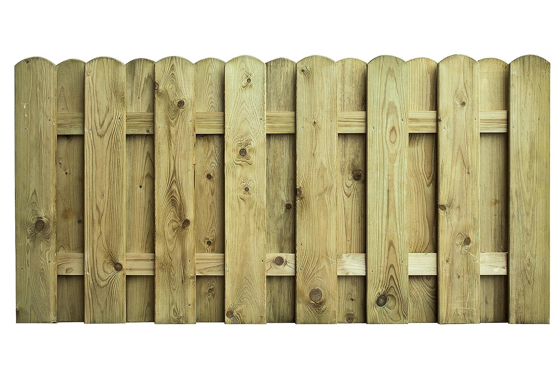 AVANTI TRENDSTORE - Belluno 1 - Recinto con aste in Legno a Due Strati, Molto Stabile e Resistente, Disponibile in Due Misure Diverse (180x90 cm)