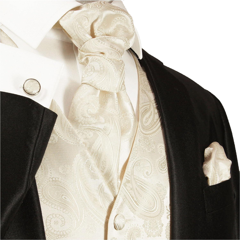 Wedding Shirt White V99HL8 Paul Malone Wedding West Set Red Paisley