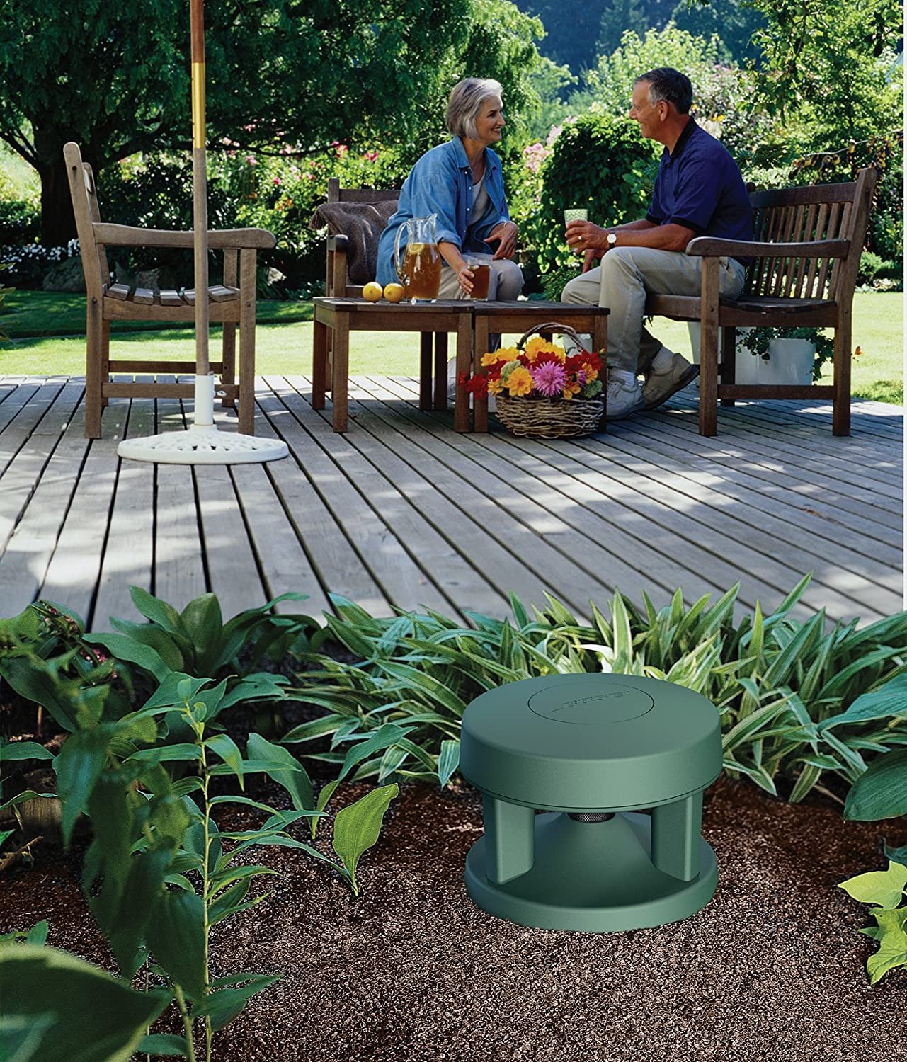 Bose Free Space 51 Outdoor In Ground Speakers Green Wiring Wall Volume Control Home Audio Theater