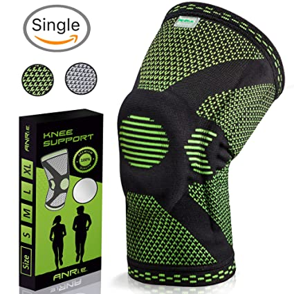 Review Knee Brace with Silicone