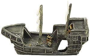 Aquatic Creations Sunken Gondola Shipwreck