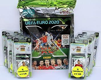 Panini Adrenalyn Road to UEFA Euro 2020 - Set de iniciación ...