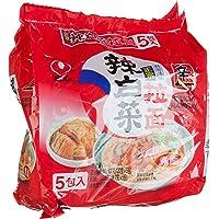 农心辣白菜袋面120g*5