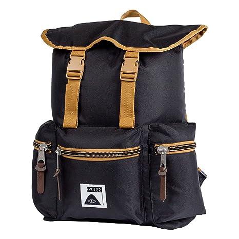 POLER Bag ROAMERS Pack Rucksack, 43 cm, 15 L, Black Fa16