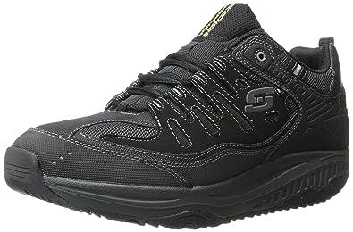 Skechers Shape Ups Xt, Men's Fitness Shoes, Black (Black/Charcoal),