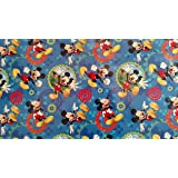 Disney Hallmark Mickey Mouse Clubhouse Gift Wrap Wrapping Paper (22.5 Sq. Ft.)