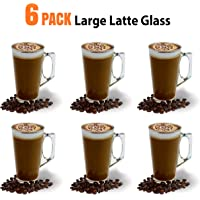 Tazas de café con leche de copa grande-385ml