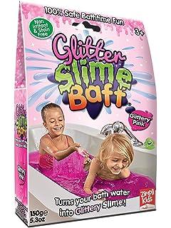 Zimpli Kids Gelli Baff Green Flat River Group 5630 2 Use Bath Gel Toy