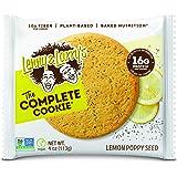 Lenny & Larry's Lemon Poppy Seed Complete Cookie 12 Bars, 1.356 kilograms