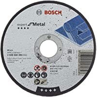 Bosch Professional 2608600394 Expert for Metal Straight Cutting disc, 125 mm