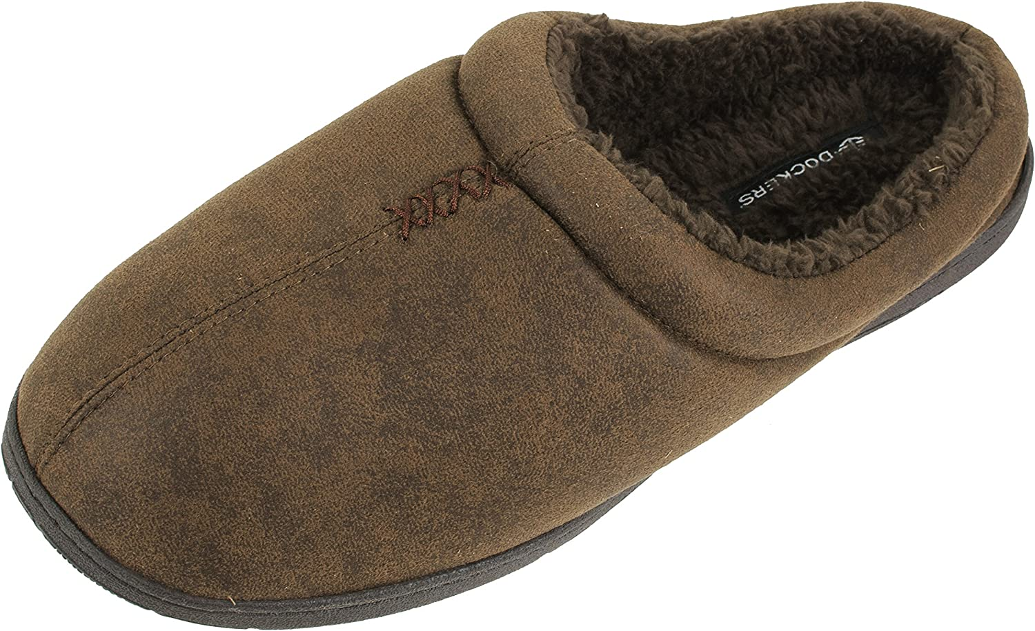 Dockers Men's Christopher Classic Casual Roll Collar Clog Slippers, Size 8 to 13