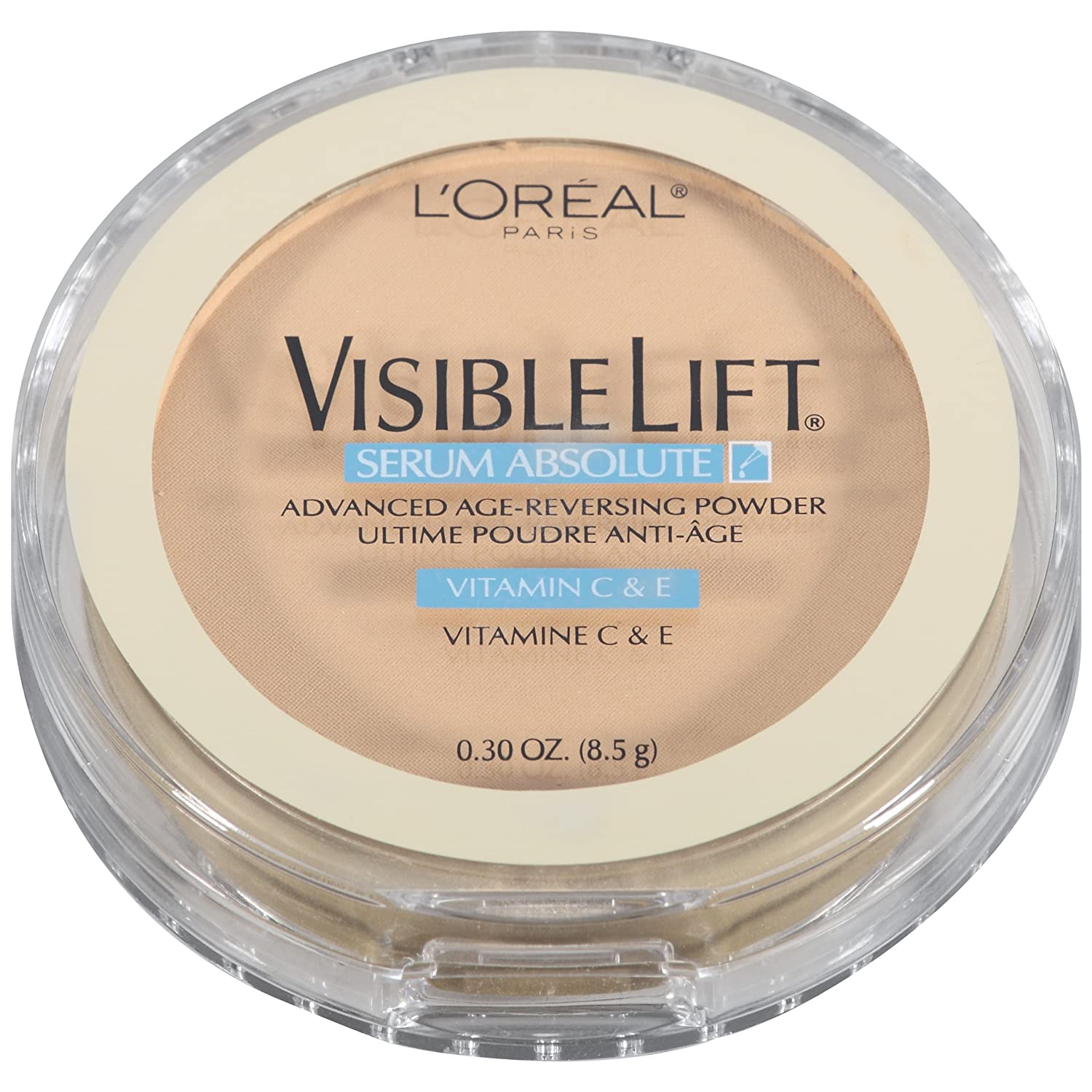 L'Oreal Paris Visible Lift Serum Absolute Advanced Age-Reversing Powder, Medium, 0.28 Ounces