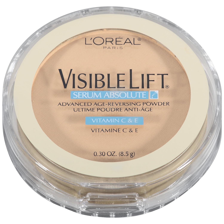 L'Oreal Paris Visible Lift Serum Absolute Advanced Age-Reversing Powder, Medium, 0.28 Ounces