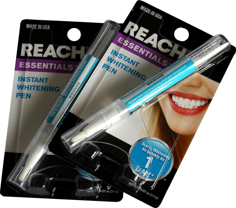 Amazon Com 2 Pack Reach Essentials Instant Teeth Whitening Pen