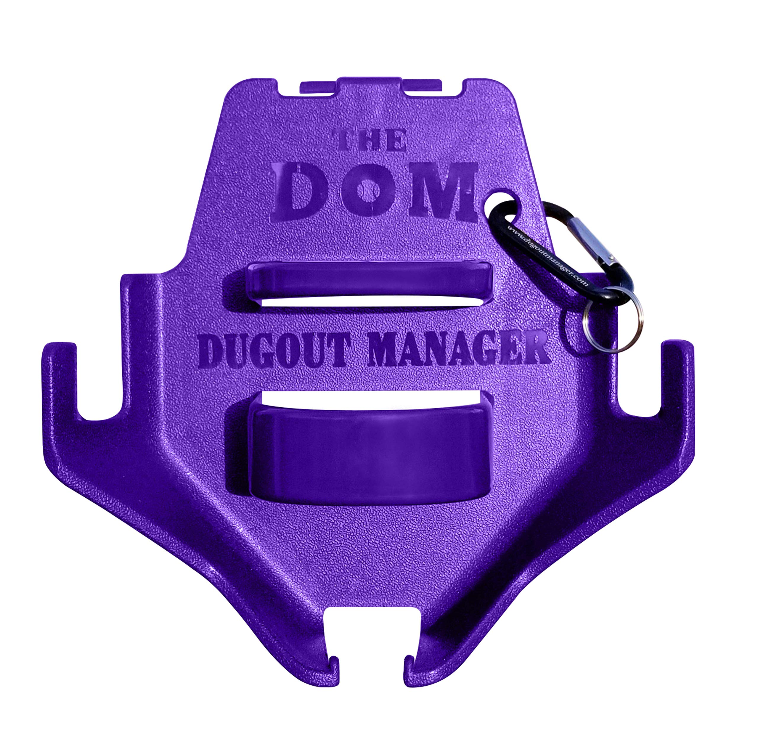 Dugout Organizer the DOM Purple (10 count) by THE DOM