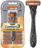 BIC Comfort 3 Hybrid Men's 3-Blade Disposable