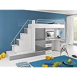 hochbett geko farbe blau k che haushalt. Black Bedroom Furniture Sets. Home Design Ideas