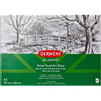 DERWENT(R) R31145F Academy Drawing PAD, A3 Landscape (80 Pages)