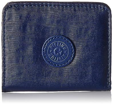 Kipling - Florencia, Carteras Mujer, Blau (Lacquer Indigo), 10x8.5x0