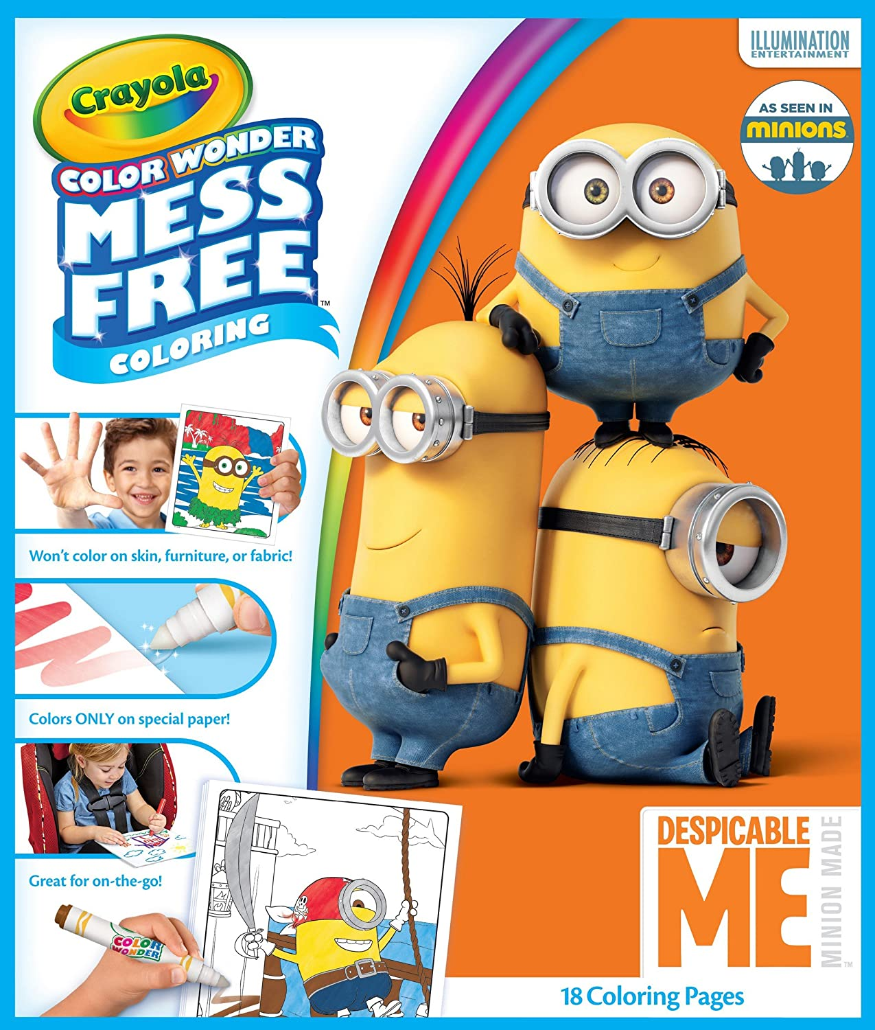 Top 35 'Despicable Me 2' Coloring Pages For Your Naughty Kids | 1500x1275