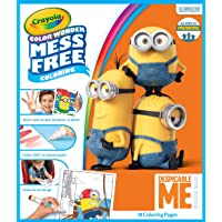 Crayola Color Wonder Despicable Me Coloring Pad & Mess Free Markers Set Art Gift for Kids & Toddlers 3 & Up, Magical Markers in 5 Classic Colors Won'T Mark Walls, Clothes or Furniture