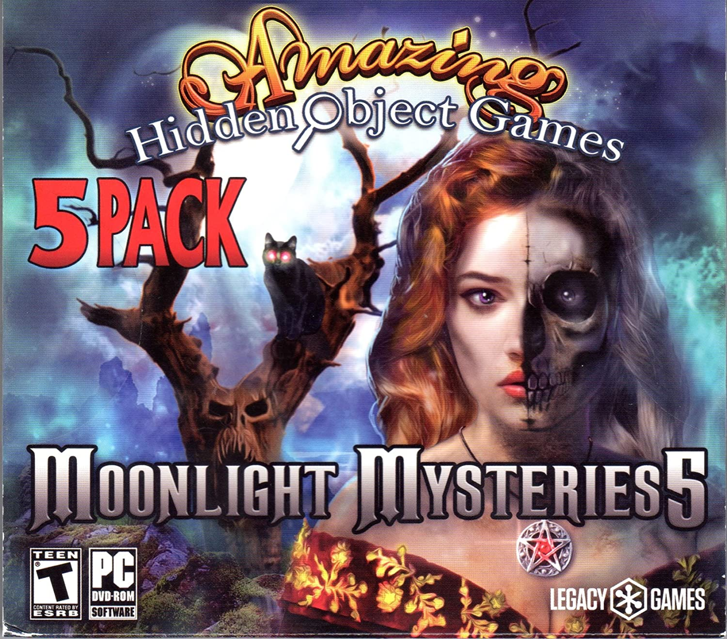 Legacy Amazing Hidden Object Games: Moonlight Mysteries 5 913h0J7wKKL