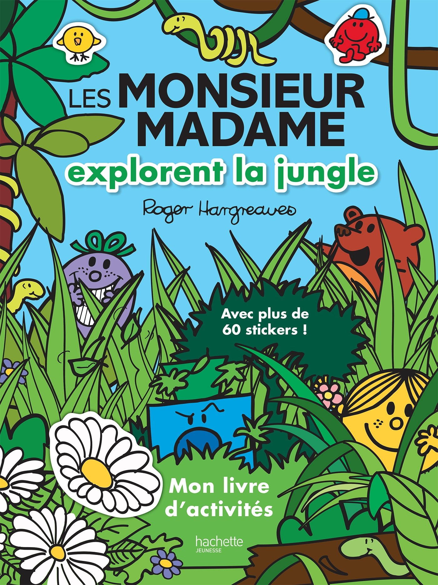 Livre D Activites Les Monsieur Madame Explorent La Jungle