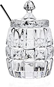 Jam Jar With Serving Spoon