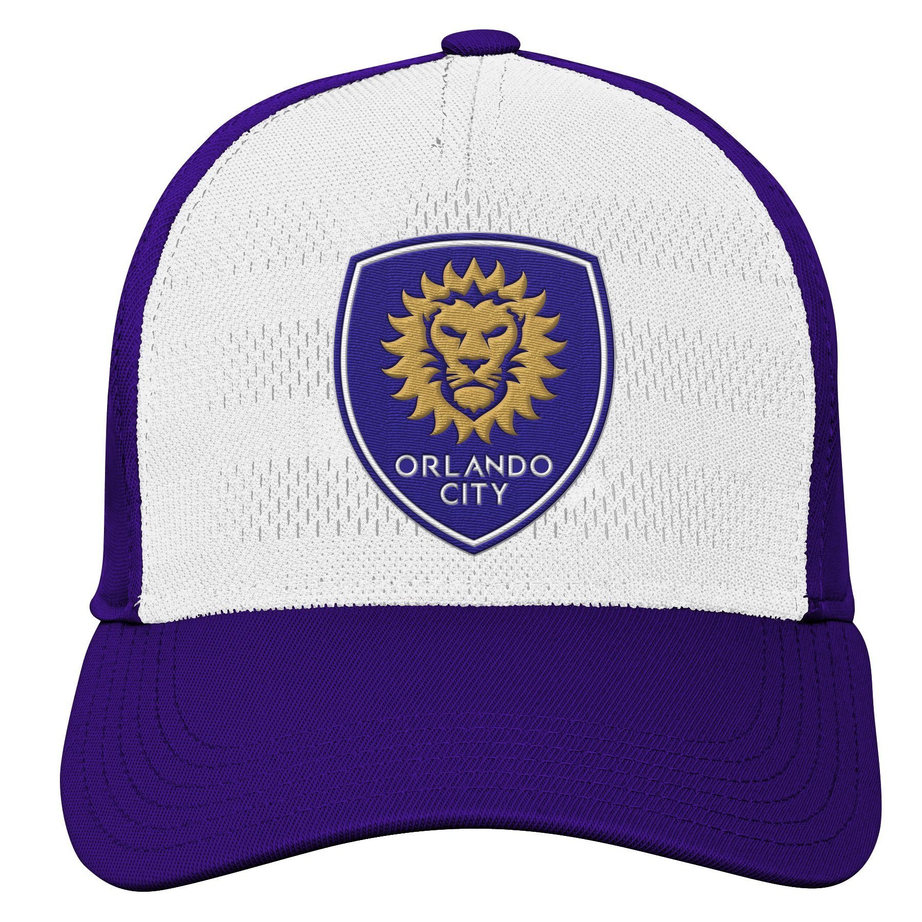 MLS Orlando United Youth Boys Authentic Structured Flex, 1 Size, Regal Purple