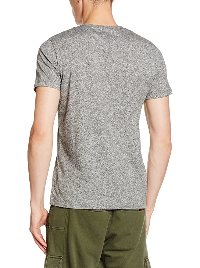 c5ab1275afc973 BIKKEMBERGS C732SE2MB017 Herren Men T-Shirt Grau Playing On The Street Print  Neu  Amazon.de  Bekleidung